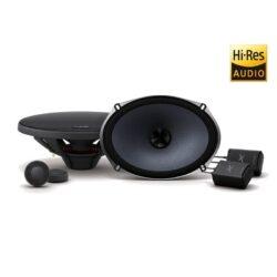 Ηχεία Alpine 6 x 9″ (16 cm x 24 cm) Component 2-Way X-Series Speakers – X-S69C