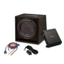 """Woofer Alpine SBG-30KIT """"All-in-one-box"""" Bass Upgrade Kit for Awesome Levels of Deep, Resonant Bass"""