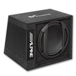 Woofer Alpine SWD-355 12″ (30CM) Amplified Subwoofer Box