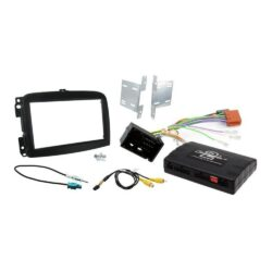 Εγκατάσταση Connects2 Fiat 500L Kit 2DIN Facia Plate  D-CTKFT12