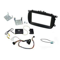 Εγκατάσταση Connects2 Fiat 500X Kit 2DIN Facia Plate  D-CTKFT13